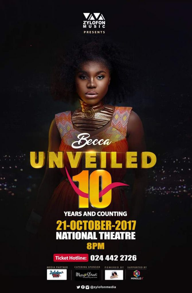 Becca -Unveiled @10 Concert