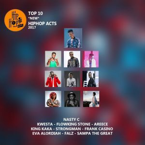 Hiphopafriq Top 10 hip hop acts