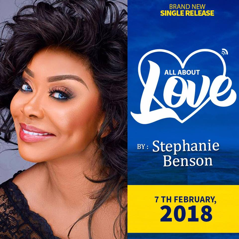 Stephanie Benson - All About Love